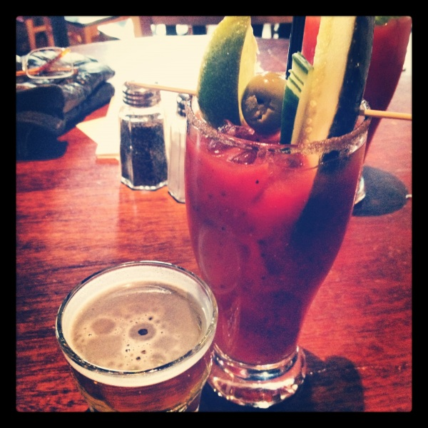 Bloody Mary at the News Room