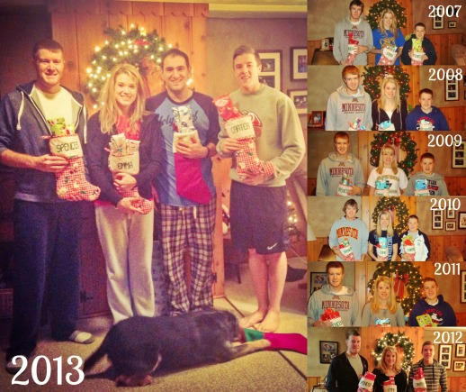 evolution of christmas morning (07-13)