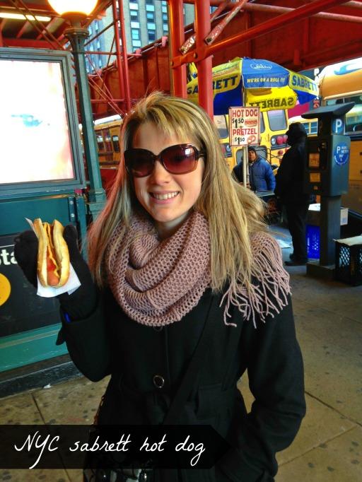NYC Sabrett Hot Dog | NYC Getaway