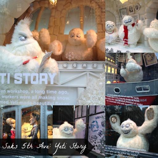 Saks 5th Ave Window Display | NYC Getaway