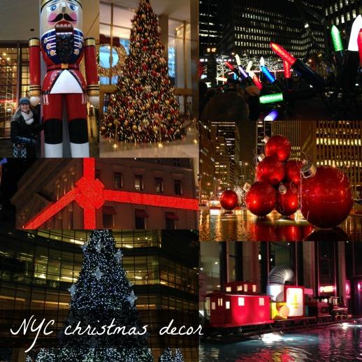 NYC Christmas Decorations   NYC Getaway