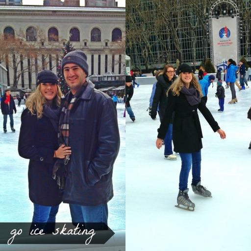 Ice Skating in Bryant Park   NYC Getaway