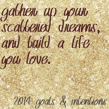 2014 goals and intentions