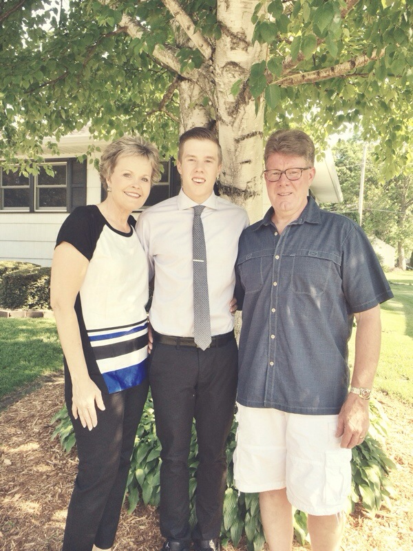 Carter's High School Graduation