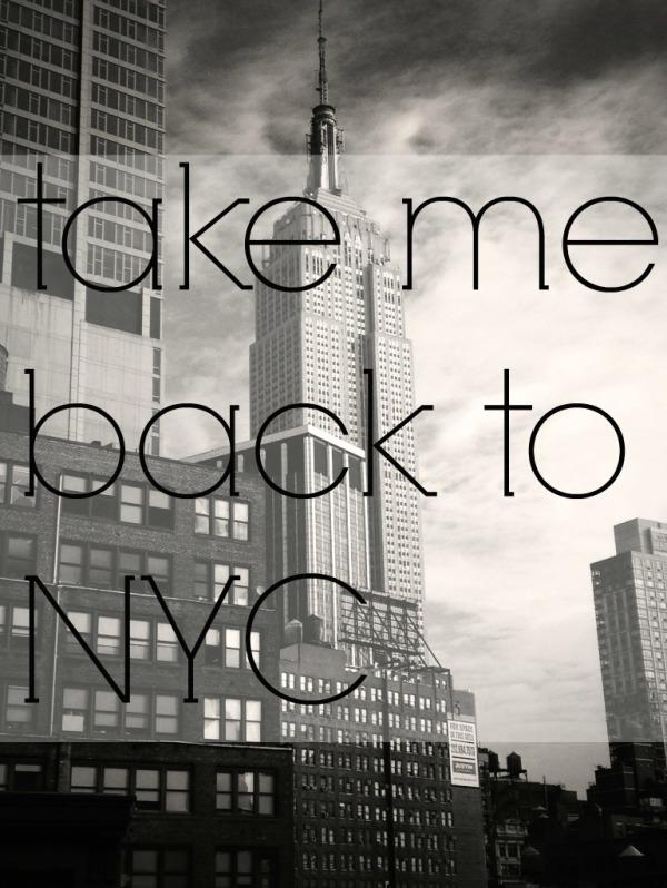 take me back to NYC // toast to 10,000