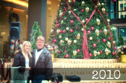 a christmas tradition // 6 years of dad and emma day