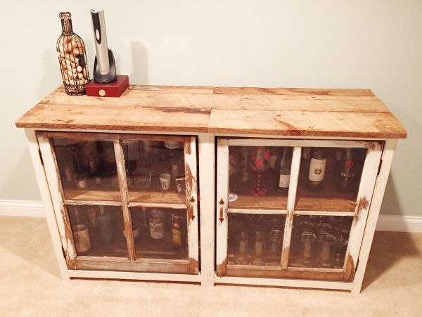 building our home we bought a bar